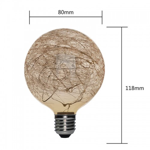 G80-CW-CL COPPER WIRE LED LAMPS | SIHON LIGHTING