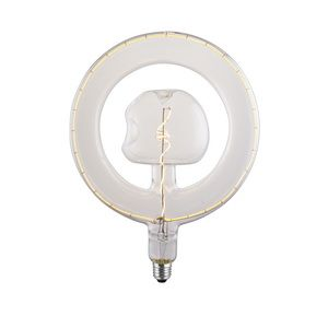 NEW VINTAGE LED BULB SPECIAL CIRCLE AND STAR DESIGN | SIHON LIGHTING