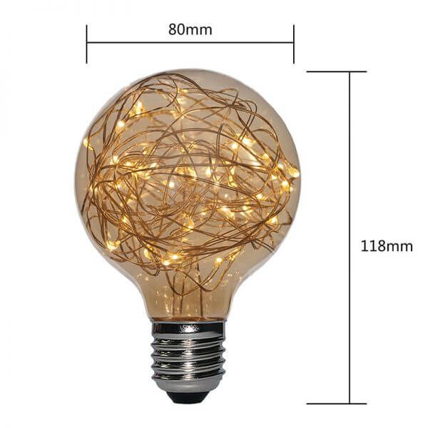 G80-CW-G COPPER WIRE LED LAMPS | SIHON LIGHTING