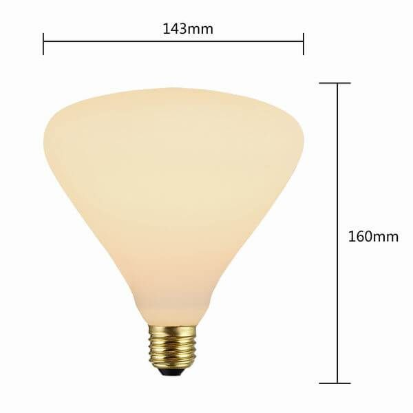 ANTIQUE FROSTED LIGHT BULBS | P143 DECORATIVE FROSTED LIGHT BULBS