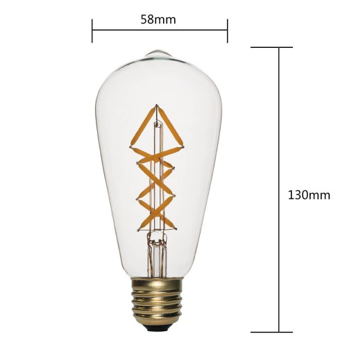 ST580804GN-LED FILAMENT BULBS SUPPLIERS   SIHON LIGHTING