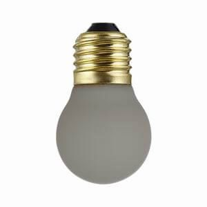 GRAY COLOR FROSTED GLASS ANTIQUE LED GLOBE BULBS G45-GF | SIHON LIGHTING