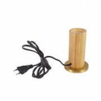 E27 METAL BRONZE COLOR LAMP HOLDER WITH 2M FABRIC CABLE | SIHON LIGHTING